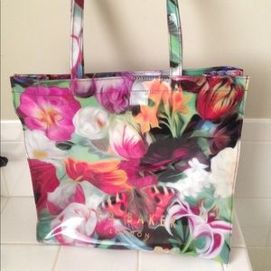 Ted Baker London Floral Swirl Icon Tote Beach bag